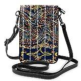 Tornillo de moda pequeño teléfono celular monedero multipropósito bolsa de hombro cartera