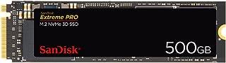 SanDisk Extreme Pro 500 GB M.2 NVMe 3D SSD, Negro (SDSSDXPM2-500G-G25)