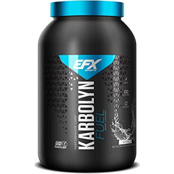 EFX Sports Karbolyn Fuel   Pre, Intra, Post Workout Carbohydrate Supplement Powder   Carb Load, Energize, Improve & Recover Faster   Easy to Mix   Neutral (4 LB 4.8 OZ)