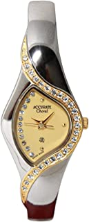 Casual Watch for Women by Accurate, Multi Color, Round, ALQ065