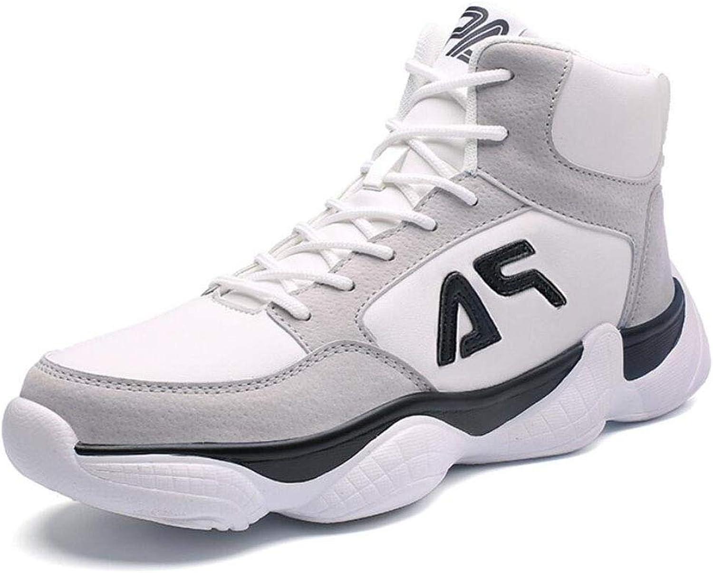 ZIXUAP Herbst und Winter High to Help Keep Warm Basketball Schuhe Korean Men es schuhe Students Casual Tide schuhe Old schuhe  |  Neuer Markt