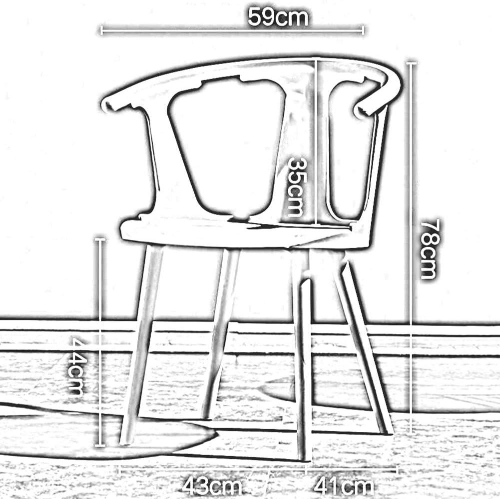 DALL Chaises De Salle À Manger Plastique Chaises De Table À Dossier Style Moderne Chaises De Maquillage Restaurant Chaise De Café De Loisirs Assemblée (Color : Gray) Green