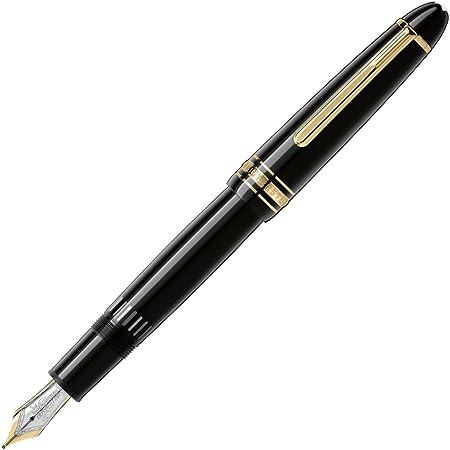 MONTBLANC 【モンブラン】 万年筆 マイスターシュテュック ル・グラン 146bk(F) ブラック ゴールド ペン先(F)細字
