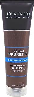 John Frieda Brilliant Brunette Multi-Tone revealing Moisturizing Shampoo for All Shades - 8.45 oz