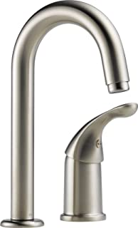 Delta 1903-SS-DST Classic Single Handle Bar/Prep Faucet, Stainless