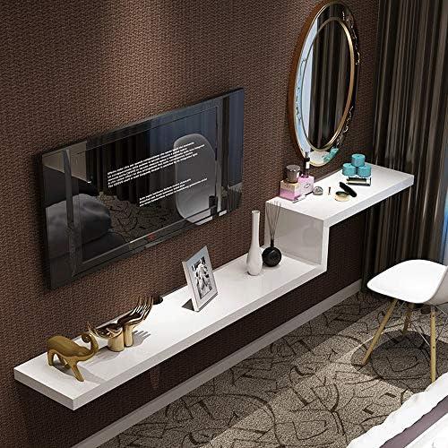 Wand-Trennwand Set-Top-Box HinterGründ Wand Regal Einfache Schminktisch TV-Schrank Kombination [Vier Farben optional] 100 120 140 160 180   200cm (Farbe   B, Größe   200cm)