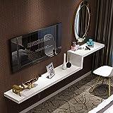 DS étagère Cloison Murale Fond décodeur étagère Murale Simple Coiffeuse Combinaison Meuble TV [Quatre Couleurs en...