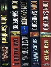 Virgil Flowers Novels, 5 Books: Rough Country / Bad Blood / Heat Lightning / Shock Wave / Mad River