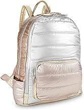 Bari Lynn Girls Backpack (Silver Rose gold)