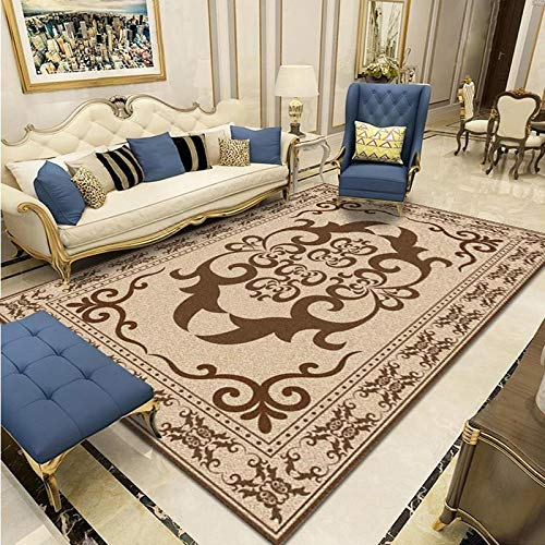 ZAZN Simple Modern Large Carpet, Non-Slip Thick, Washable, Home Sofa, Living Room, Coffee Table, Carpet, Bedroom, Floor Mat