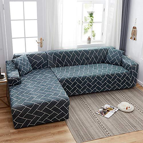 Topashe Funda de Sofá Elástica Punto,Funda de sofá con Todo Incluido, Funda de sofá elástica-G_190-230cm,Sillón Elastano Fundas de Sofá