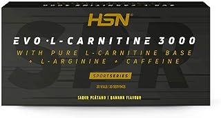 EVO L-CARNITINE 3000 20 vials | Liquid L-Carnitine | single-dose vials. With caffeine, L-arginine and vitamin B6. (Banana)