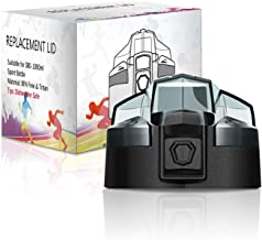 KollyKolla Coperchio per Bottiglia d'Acqua, Tappo per Bottiglia di plastica, BPA-Free, Adatto per Borraccia da 380/500/700/750/1000 ml