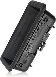 Heckklappengriff 51247118158 Kofferraum Klappenschloss Heckklappe Druckknopf Schalter für BMW E88 E82 E90/93/92/91 E60 E61 X1