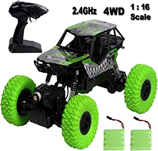 Sun Cling Waterproof RC Truck 4x4 Off Road Remote Control Car for Boys Crawler RC Cars for Kid Girls