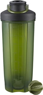 AVEX Mixfit Shaker Bottle with Carabiner Clip