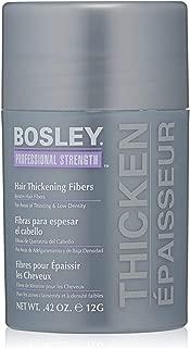 Bosley Professional Strength Hair Thickening Fibers, Dark Brown, 0.42 Ounce