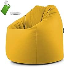 Creative QT Poltrona Sacco da Riempire con Peluche 38, a Pois Blu Disponibile in Varie Dimensioni e Colori Organizzazione Riempi /& Siediti per Stoccaggio Giocattoli Bambini