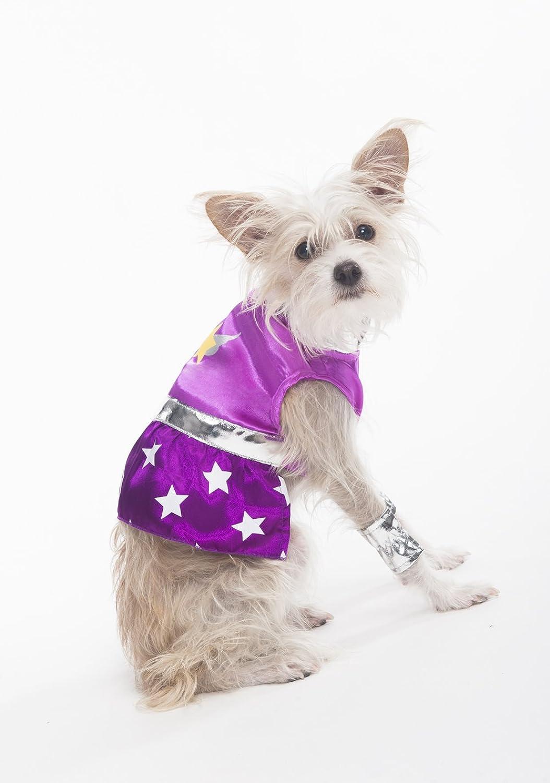 Fashion Pet Halloween Superdog Girl Costume for Dogs, Medium