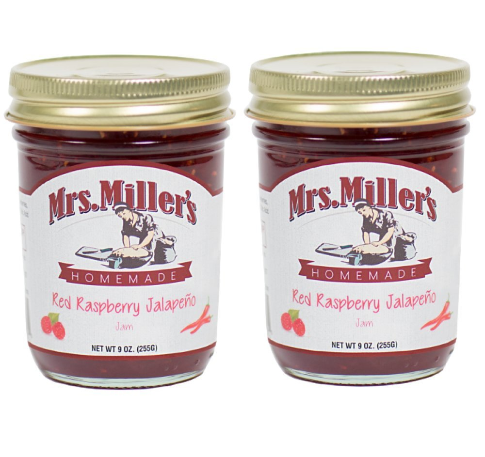 Mrs Millers Jalapeno Red Raspberry Jam Ounces Made 2 sale - Amish excellence 9