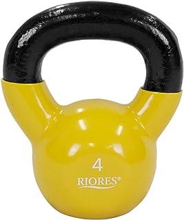 RIORES(リオレス) ケトルベル KETTLEBELL 4kg/8kg/12kg/16kg/20kg/24kg PVCコーティング