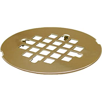 4-1//4 Polished Brass Replacement Strainer with Screws