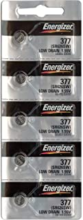 Energizer 377 / 376 Watch Batteries (Pack of 5)
