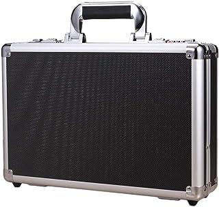 Uonlytech Mini Locking Box Aluminium Alloy Code Case Safety Money Saving Box (Black)
