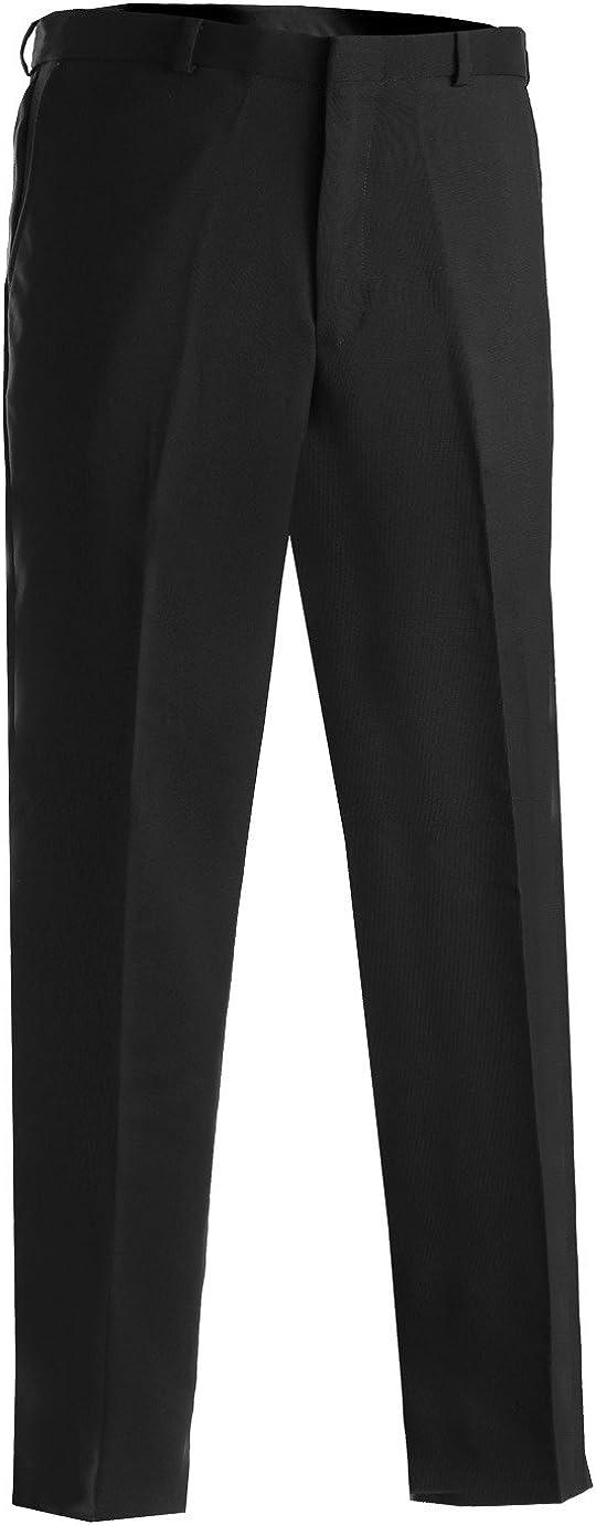 Edwards Garment Men's Classic Flat 5 Front Pant Seasonal Wrap Introduction Ranking TOP4 Security Black