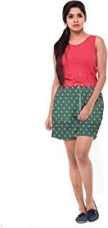 EASY 2 WEAR ® Women Elasticated Drawstring Shorts - Polka Dots - Sizes (XS to 4XL)