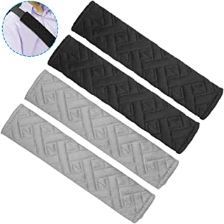 AEVEILS 2PCS Imbottiture Cinture di Sicurezza per Suzuki Jimny 2019 Cuscinetti Traspiranti per Cintura di Sicurezza in Fibra di Carbonio per Adulti e Bambini,Accessori Decorativi per Lo Styling