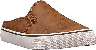 Lugz Women's Clipper Mule LX Fleece Fashion Sneaker, Cashew/Natural/Whisper White, 6
