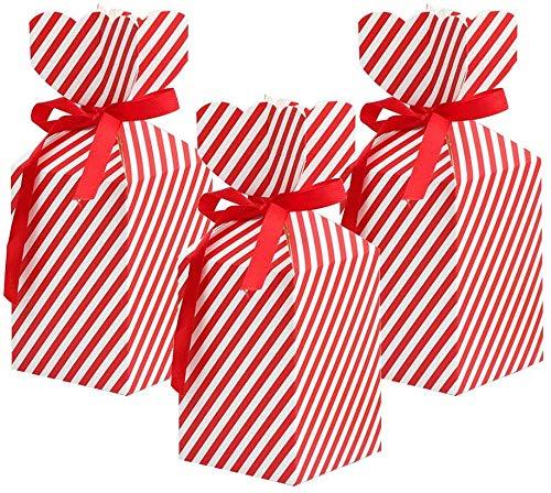 Cajas de regalo mini de la fiesta de Navidad de la cartón,Cajas de caramelo de Navidad,Cajas de regalo para dulces de la magdalena de Navidad Regalo de boda