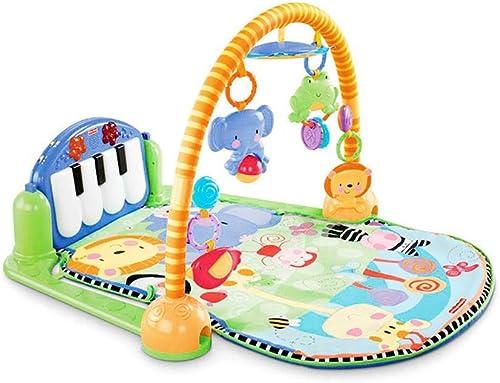 Kitabetty Baby Play Piano Gym, Baby Fitness Pedale Baby Piano Spielmatte Fitnessger  3 In 1 Baby Wiegenlied Kid Playmat Für 0-36 Monate Jungen Und mädchen