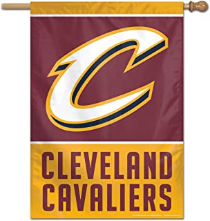 Wincraft NBA Cleveland Cavaliers Vertical Flag, 28 Inches by 40 Inches, Team Colors
