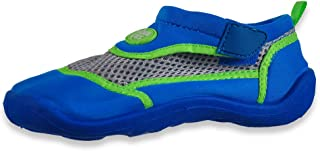 Aquakiks Boys' Water Swim Shoes - Blue/Green, 6 Toddler