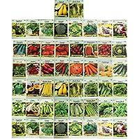 50-Pack Black Duck Brand Assorted Heirloom Vegetable Seeds
