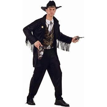 DISFRAZ ADULTO VAQUERO SHERIFF (TALLA M): Amazon.es: Juguetes y juegos