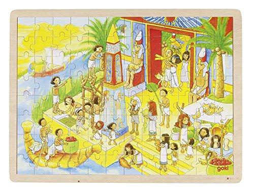 Goki Puzzle im Alten Ägypten