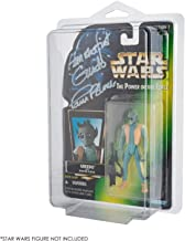 Display Case Compatible with 3.75 inch Star Wars & Gi-Joe Carded Action Figures -25 Scratch and UV Resistant Blister Pack PET Protector by EVORETRO