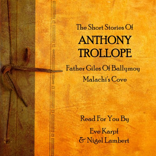 Anthony Trollope audiobook cover art