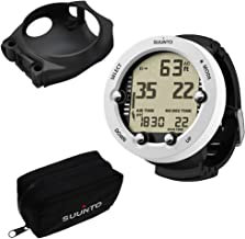 SUUNTO Vyper Novo White Dive Computer with Soft Bag and Combo Mount