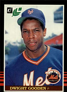1985 Leaf/Donruss Baseball Rookie Card #234 Dwight Gooden