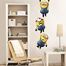 Sticker Studio Minions Wall Stickers for Living Room, Bedroom, Kids Room (Vinyl, Standard, Multicolour)