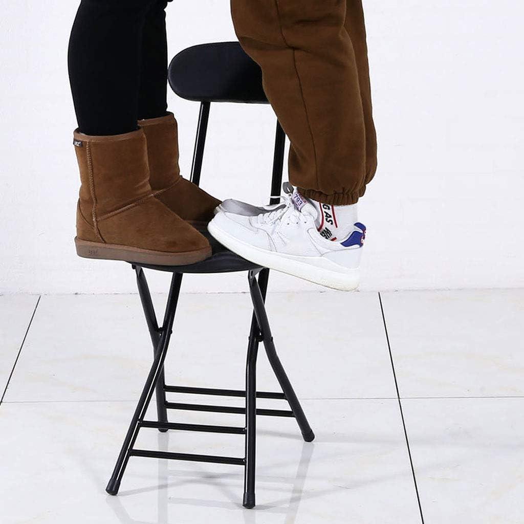 PRIDE S Chaise Pliante à la Maison de Dossier de Loisirs de Chaise à la Maison Chaise Simple portative de dortoir Chaise de Salon (Color : C) E