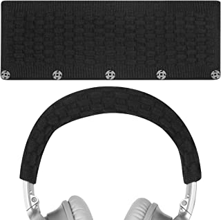 Geekria Headphone Headband Cover for Bose QC35 II, QC25, QC15, QC2 Replacement Bose QuietComfort Headband Cover/Comfort Cushion/Top Pad Protector Sleeve (Black)