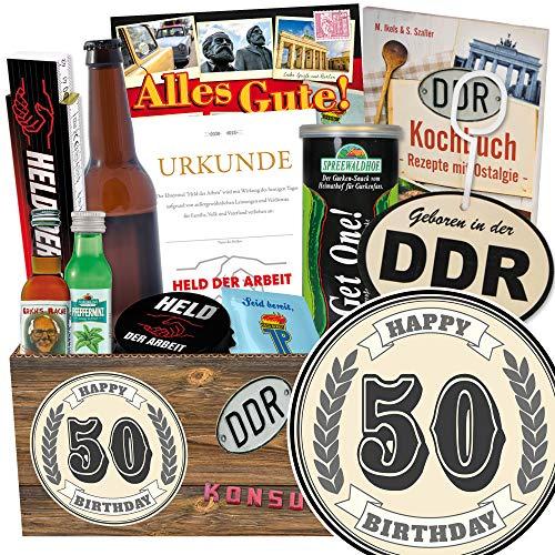 50. Geburtstag / DDR Waren für Männer / 50 Geburtstag Geschenk