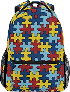 puzzle piece backpack