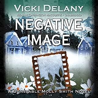 Negative Image audiobook cover art