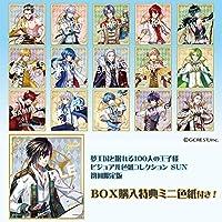 夢王国と眠れる100人の王子様 ビジュアル色紙コレクションSUN 【初回限定版】 BOX商品 1BOX = 15枚入り、全15種類 + BOX特典1種類